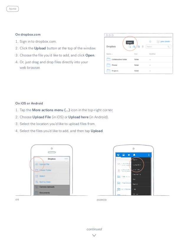 Get started with dropbox Slide 3