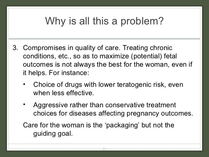 Why is all this a problem? <ul><ul><li>3.  Compromises in quality of care. Treating chronic conditions, etc., so as to max...
