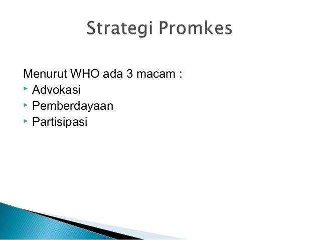 Kul4 Strategi Promosi Kesehatan