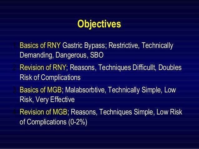 Comparison Of Revision In Roux En Y Vs Mini Gastric Bypass