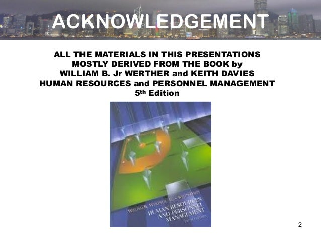 human resource management strategy people performance 5th edition pdf