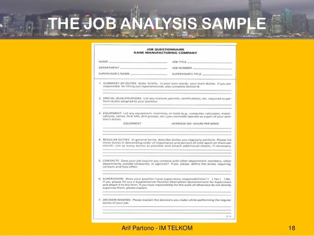 Hrm Davis Chapter 5 Job Analysis 2014