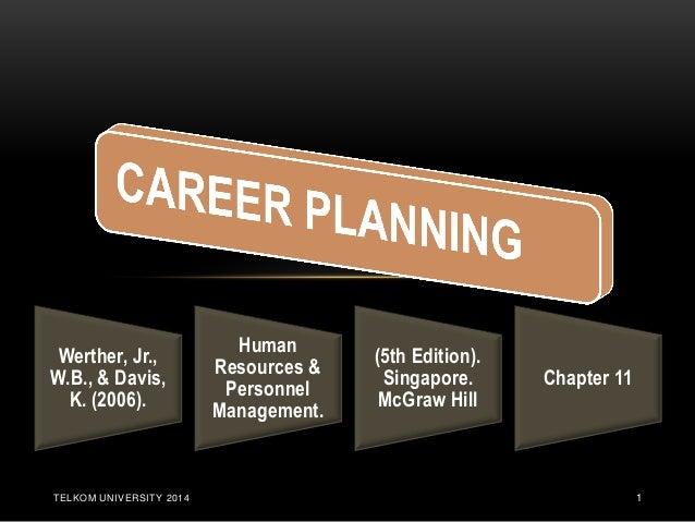 TELKOM UNIVERSITY 2014  1  Werther, Jr., W.B., & Davis, K. (2006).  Human Resources & Personnel Management.  (5th Edition)...