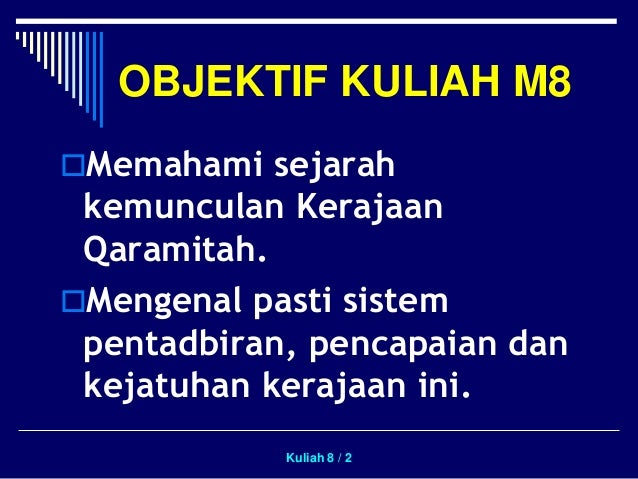 Kerajaan Qaramitah Slide 2