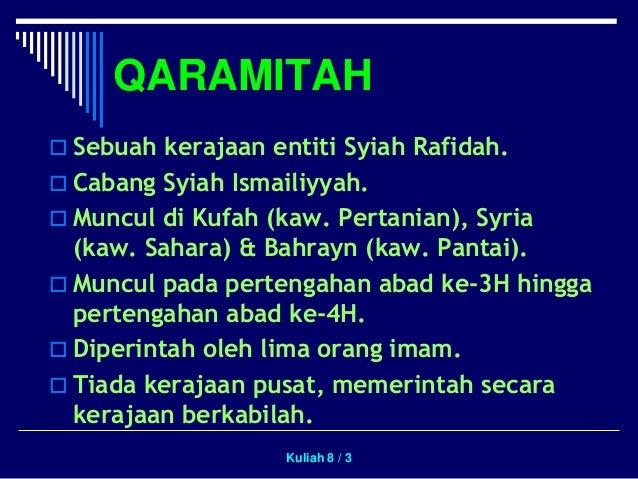Kerajaan Qaramitah Slide 3