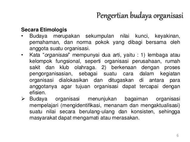Kuliah 12 budaya organisasi