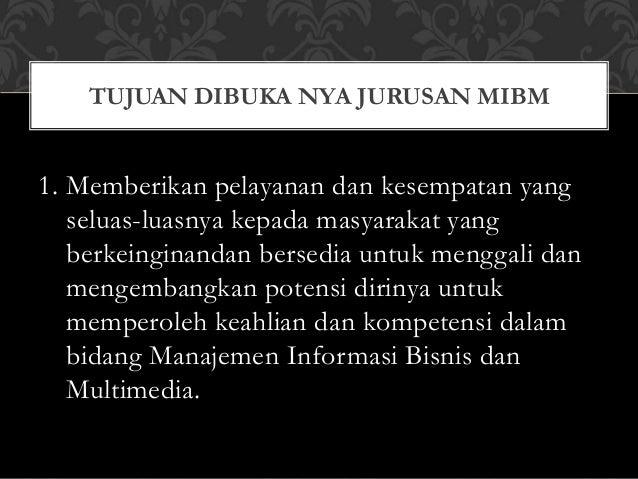 Kuliah Singkat dan Cepat Kerja MIBM VOKASI UB Slide 3