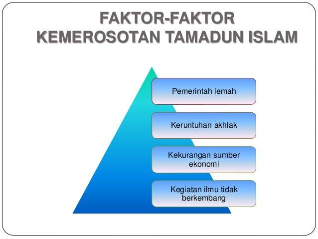 Faktor keruntuhan tamadun islam