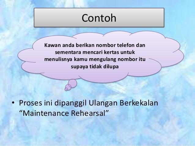 Mengaplikasikan Model Pemprosesan Maklumat Dalam Pdp Bahasa Melayu