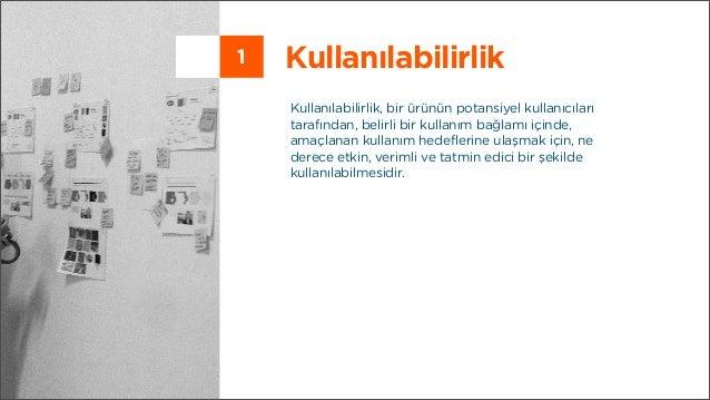 Kullanılabilirlik Testi ve Kullanıcı Deneyimi Tasarımı Araçları Slide 2
