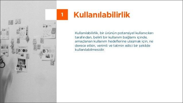 Kullanılabilirlik ve Kullanıcı Deneyimi Teknikleri Slide 2