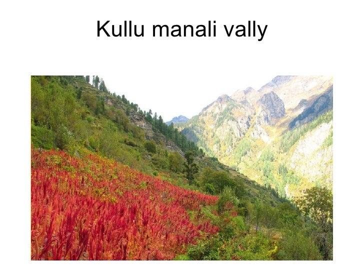 Kullu manali vally