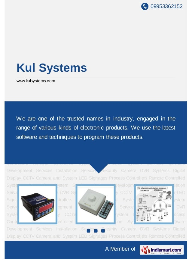 09953362152A Member ofKul Systemswww.kulsystems.comProcess Controllers Remote Controlled Systems Automation System Service...