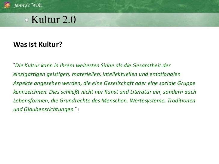 Kultur 2.0 Slide 3