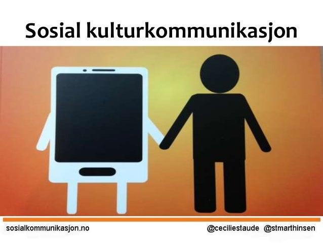 Sosial kulturkommunikasjon