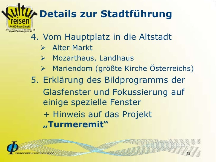 Details zur Stadtführung  4. Vom Hauptplatz in die Altstadt    Alter Markt    Mozarthaus, Landhaus    Mariendom (größte...