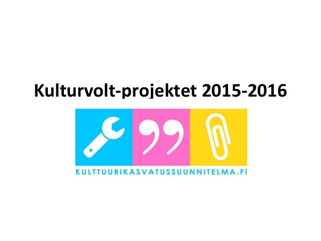 Kulturvolt-projektet 2015-2016