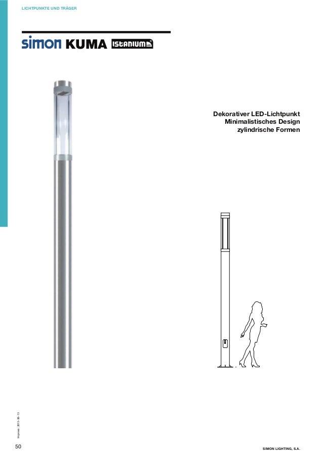 LICHTPUNKTE UND TRÄGER  KUMA  Impreso: 2013-06-13  Dekorativer LED-Lichtpunkt Minimalistisches Design zylindrische Formen ...