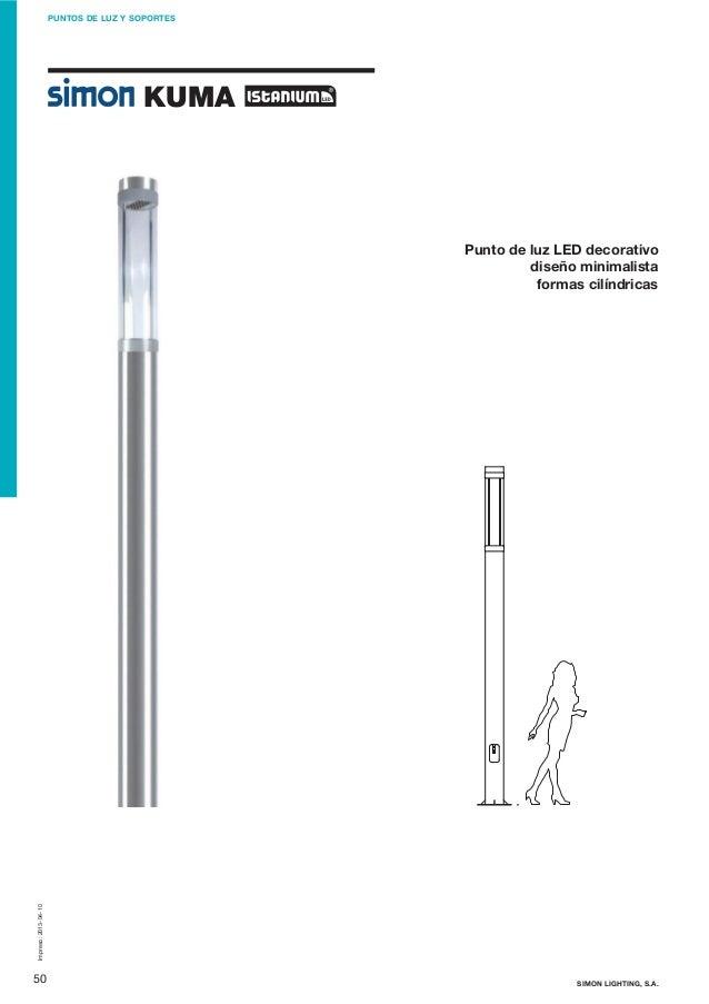 Simon Lighting Puntos de luz - Kuma Istanium LED - photo#11