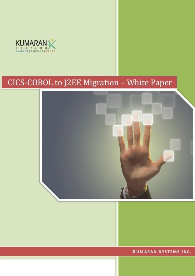 CICS-COBOL to J2EE Migration – White Paper