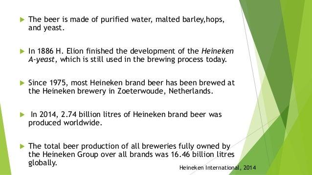 heineken beer supply chain network