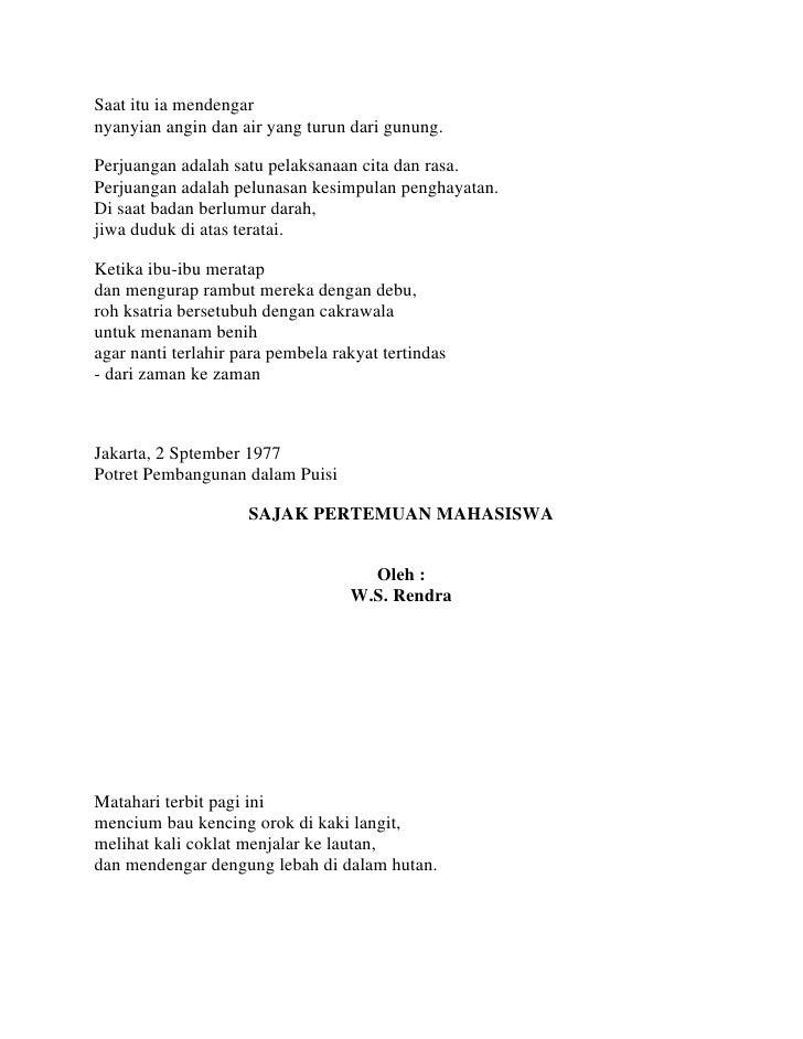 Contoh Puisi Tentang Dokter Gigi Kumpulan Puisi