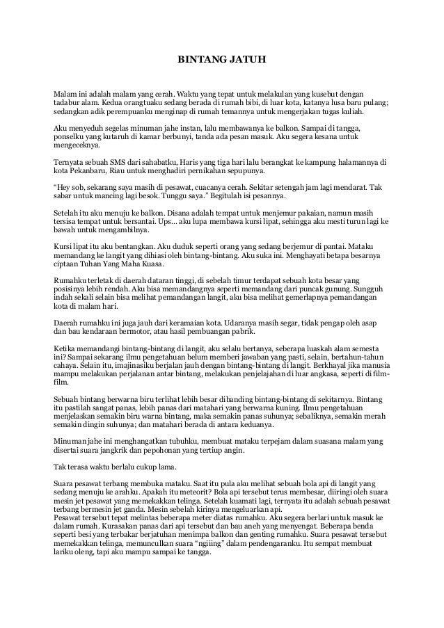 Kumpulan Cerpen Fajar Sany Desember 2014 Mei 2015