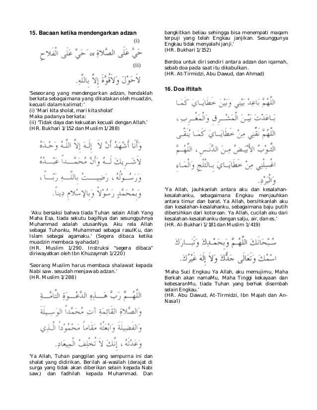 Kumpulan Doa Dalam Al Quran Dan Sunnah