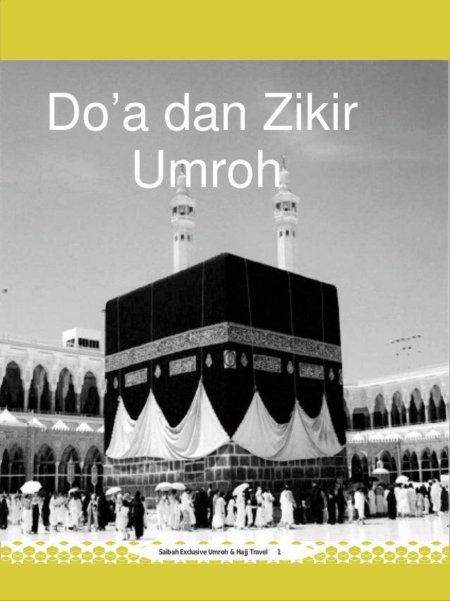 Saibah Exclusive Umroh & Hajj Travel 1 Do'a dan Zikir Umroh