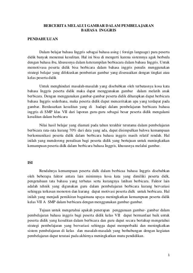 Kumpulan Karya Ilmiah Populer Mgmp Bahasa Ingggris Kubu Raya 2012 Pdf