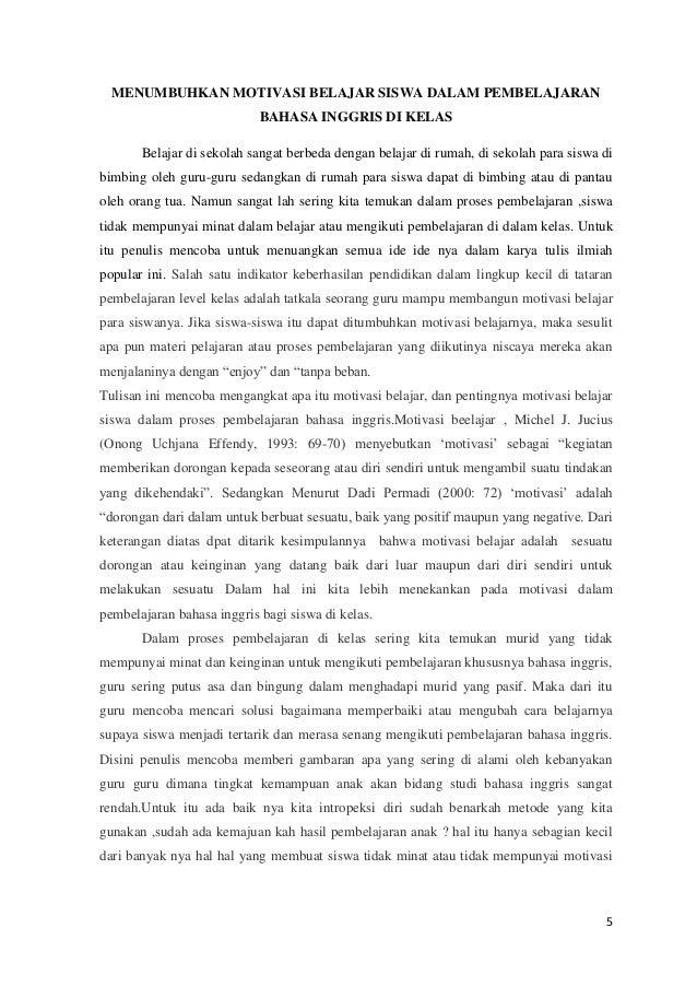Contoh Karya Tulis Ilmiah Tentang Pendidikan Bahasa Inggris Pdf Temukan Contoh