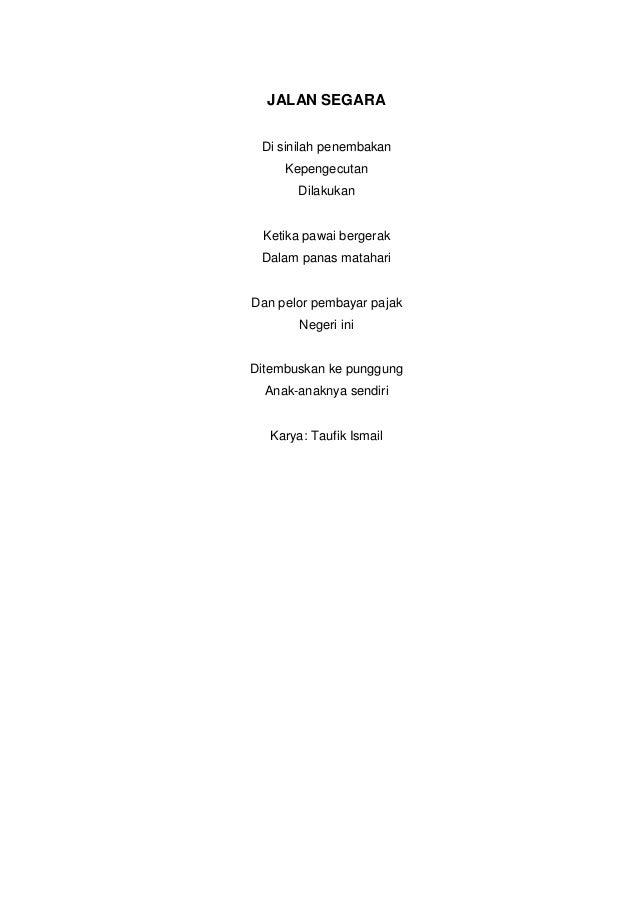 Suasana Puisi Tersebut