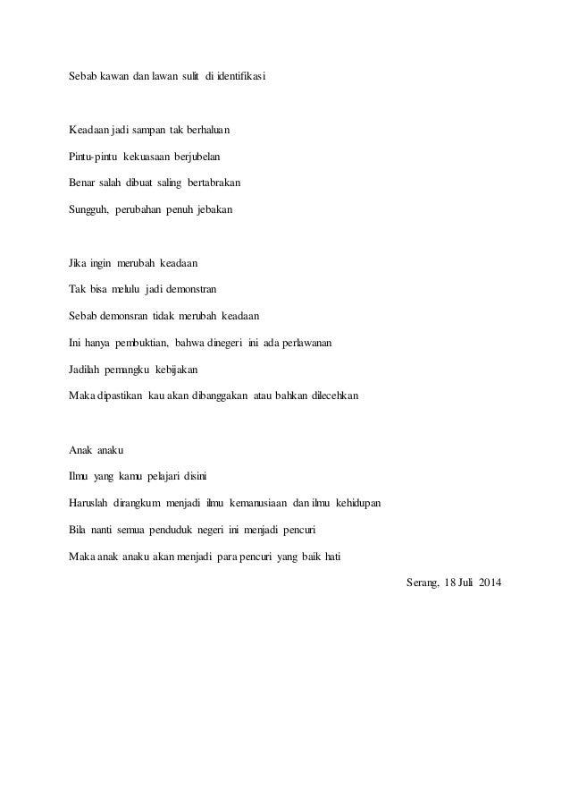 Kumpulan Puisi Nedi Suryadi