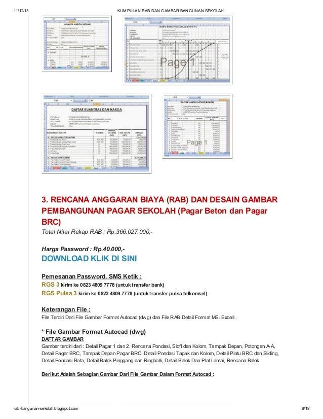 Download Gambar Pagar Brc Autocad - Koleksi Gambar HD