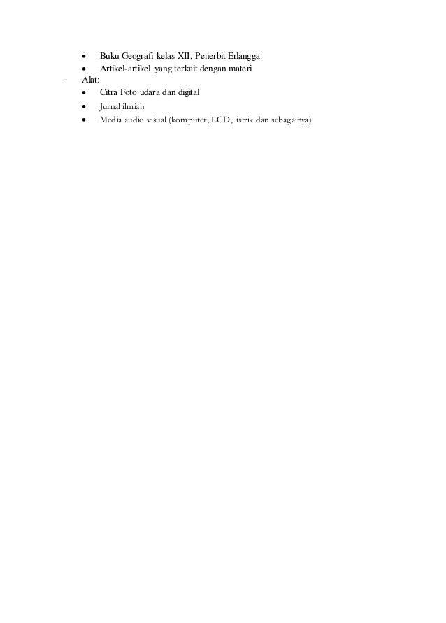 Rpp geografi kelas 10