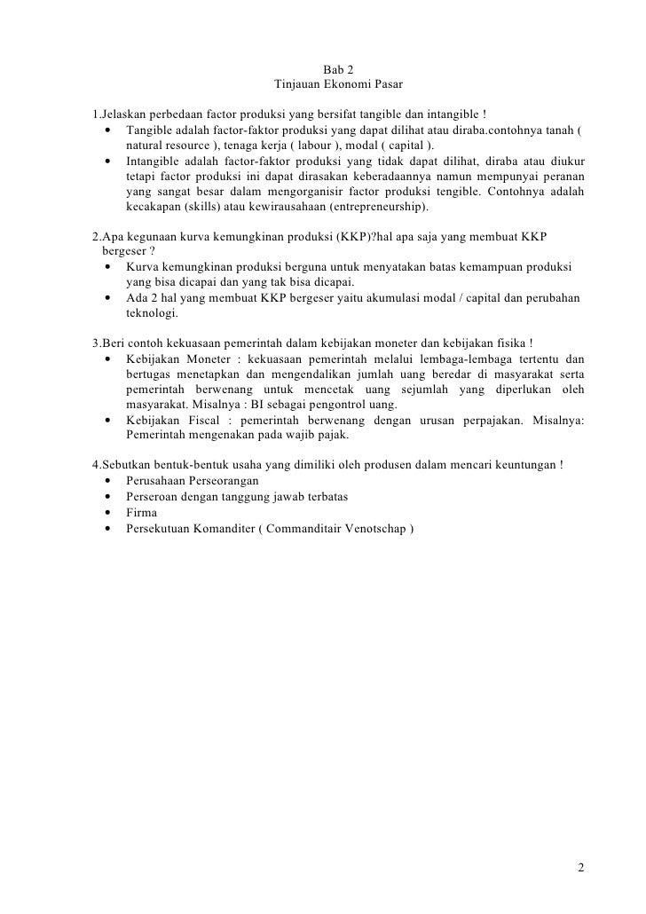 Contoh Soal Ekonomi Mikro Pasar Monopolistik Id Jobs Db