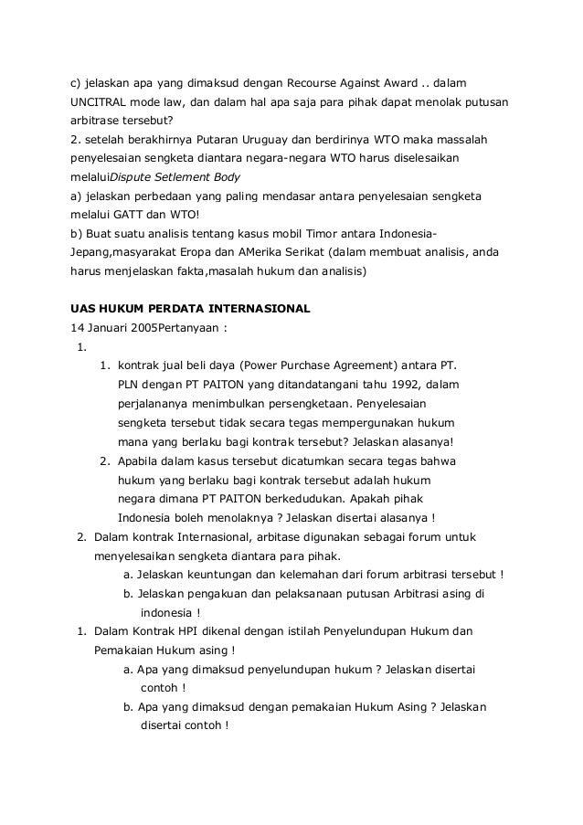 soal essay pkn hubungan internasional