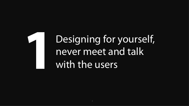 5 UX Mistakes that are killing your products Slide 2