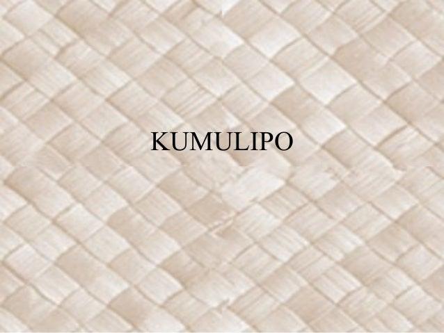 KUMULIPO