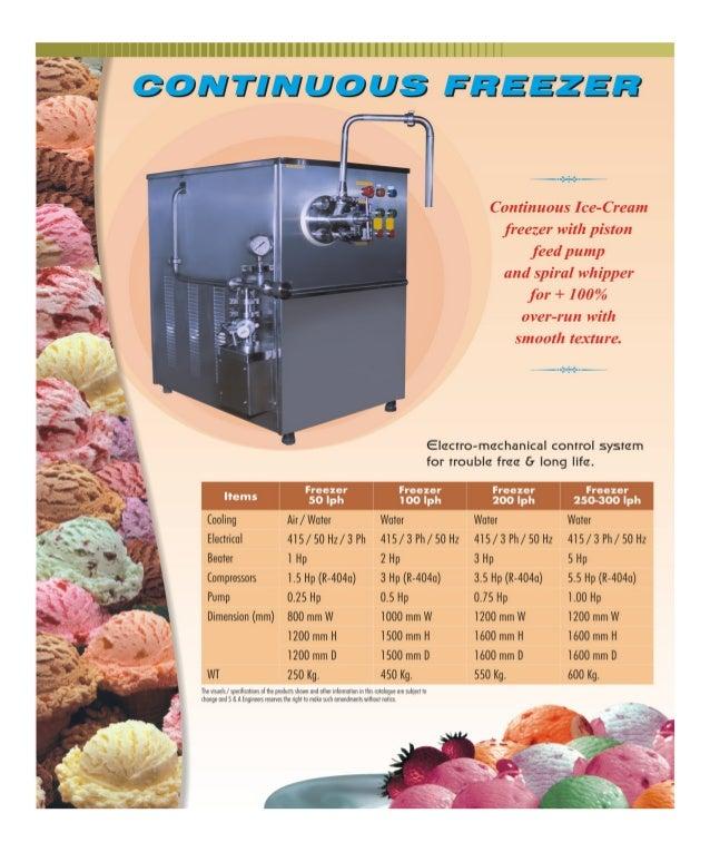 Kunal International, Bengaluru, Commercial Ice Cream Making Machines