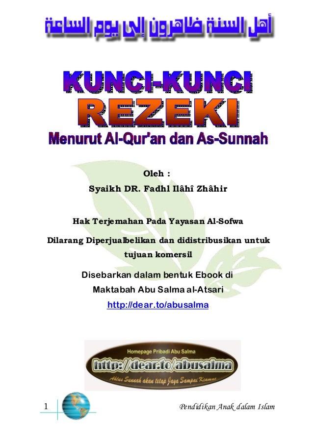Kunci Rezeki Syaikh Dr Fadhl Ilahi 638 Cb Aku Ber Maka Ada