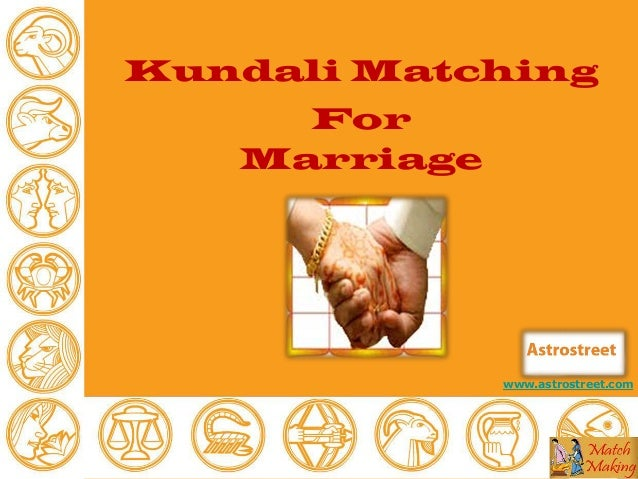 Kundali matching for marriage by date of birth