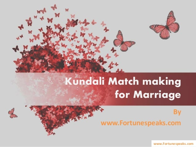 Kundali match making in english