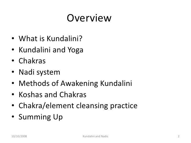 Kundalini And Chakras Slide 2