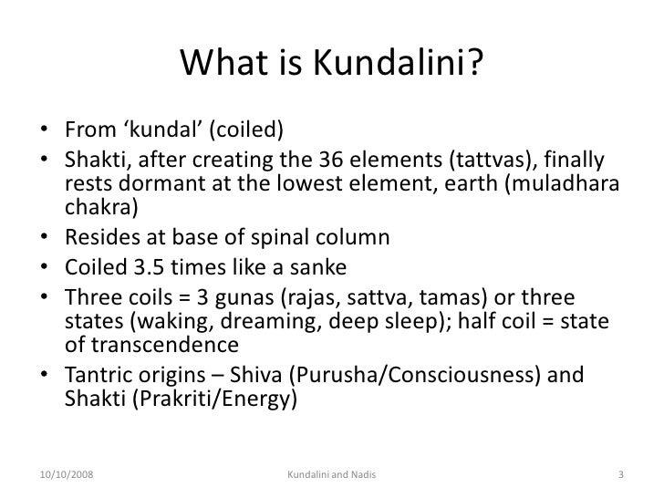 Kundalini And Chakras Slide 3