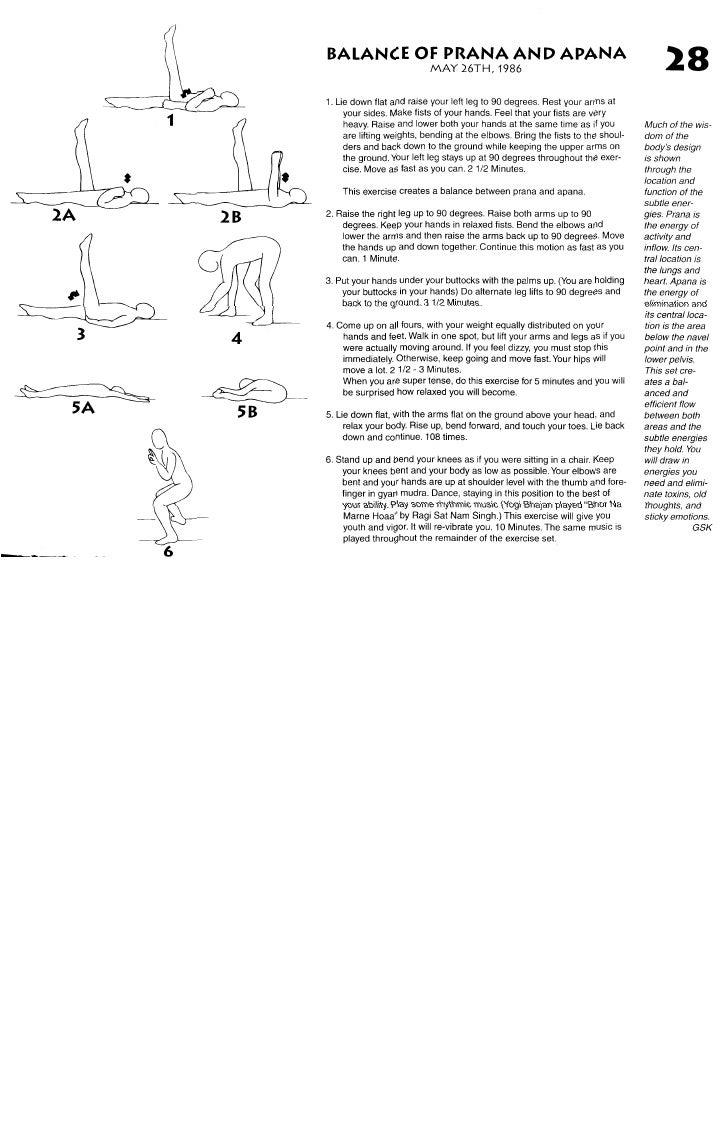 Kundalini yoga   physical wisdom - 62 illustrated pages