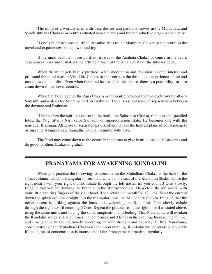 kundalini yoga de swami sivananda pdf