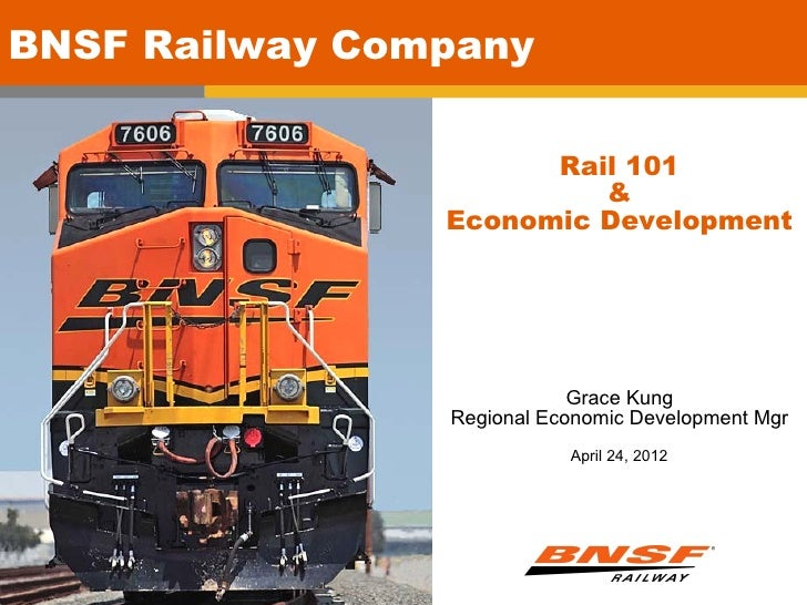 Replaced title typeBNSF Railway Company              and photo                      Rail 101                         &    ...
