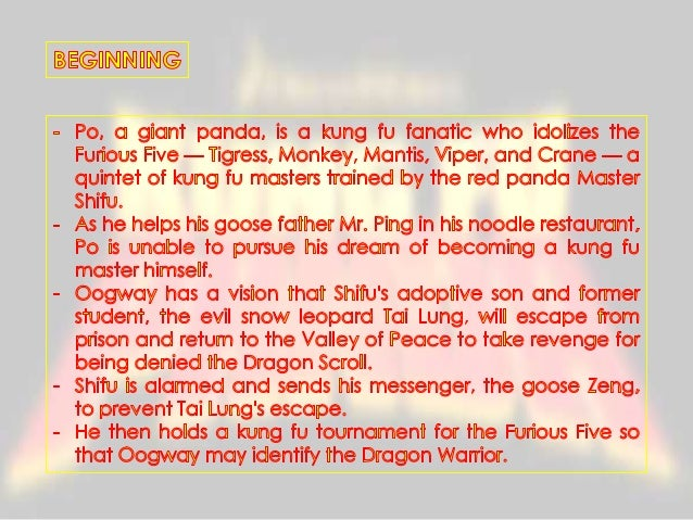 @MMAX  ~=  Po becomes a formidable challenge for Tai Lung as he iries io proiecf ihe Dragon Scroll,  using his unorihodox ...
