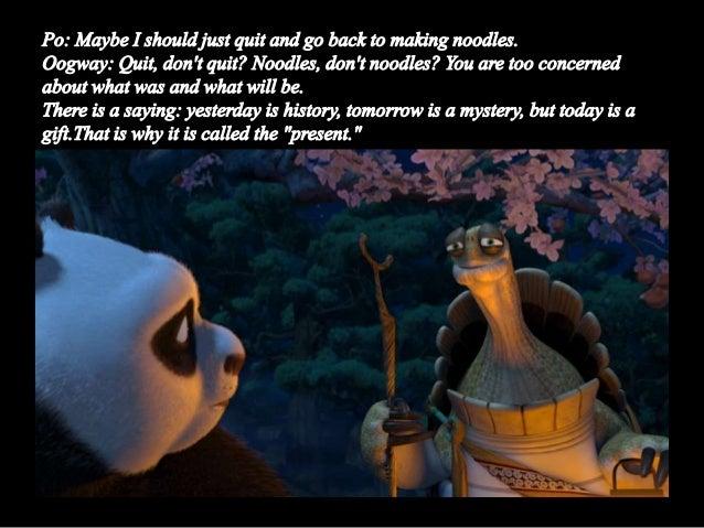 Kung Fu Panda Oogway Quotes: Kungfu Panda Philosophy